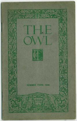 The Owl, Summer 1928