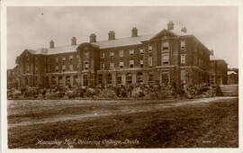 Macaulay Hall, Training College Leeds. Postcard.