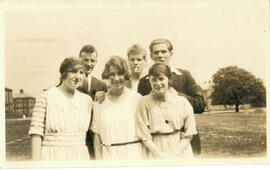 Sports' Day May 28th 1924. Group Photograph on Acre.