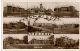 The Training College Leeds .Postcard.