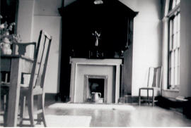 The entrance lobby to Macaulay Hall 1947