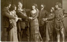 Cast of Taming of the Shrew. 1922
