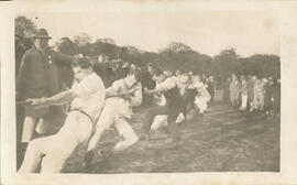 Fairfax tug of war team. 1923