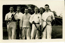 Fairfax tennis team. 1923