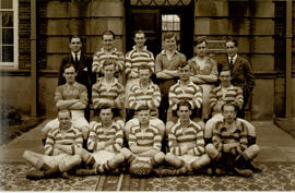 Fairfax Hall Rugger team. 1922-3
