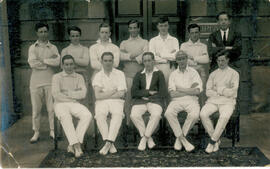 Fairfax Hall Cricket team. 1923