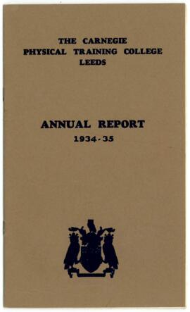 The Carnegie Physical Training College Leeds. Annual report 1934-35