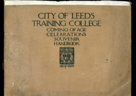 City of Leeds Training College Coming of Age Celebrations Souvenir