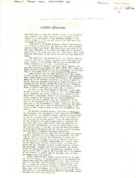 Article about the James Graham Building