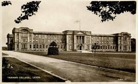Training College, Leeds. Postcard