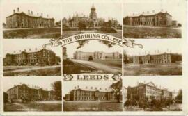 The Training College, Leeds. Postcard.