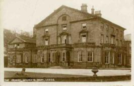 Postcard of The Grange, Becketts Park, Leeds
