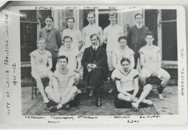 City of Leeds Training College 1910-12 Harriers 1912