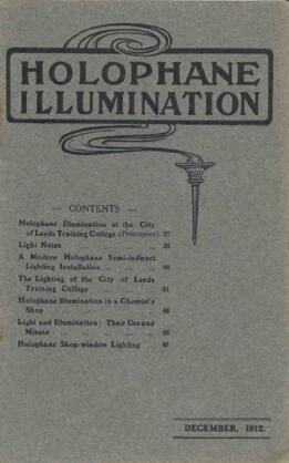 Holophane Illumination, December 1912