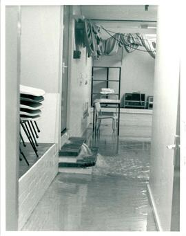 Flooded studio.