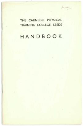 Carnegie Physical Training College, Leeds. Handbook.