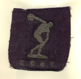 Carnegie embroidered blazer badge